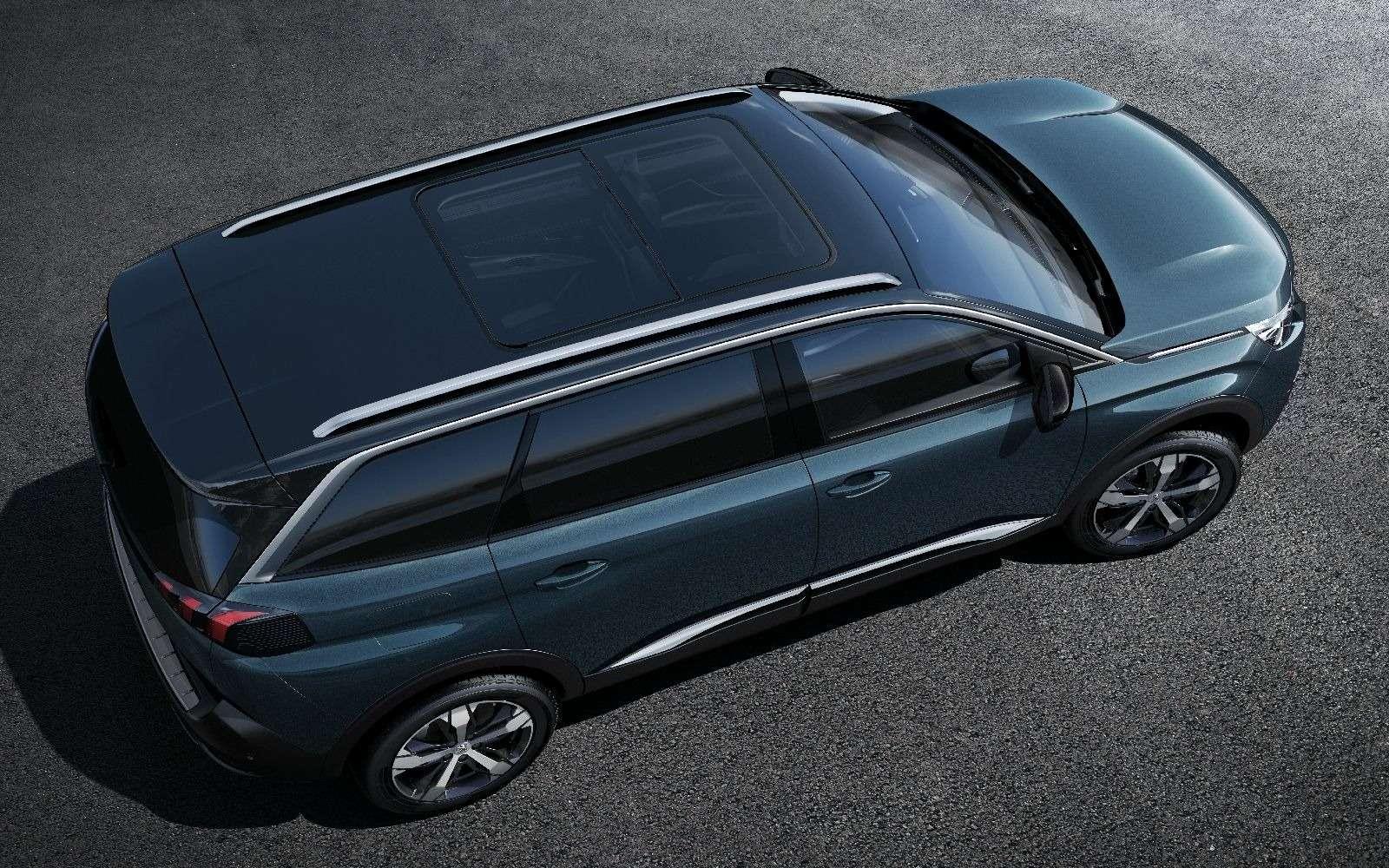 Завышенная самооценка: Peugeot 5008 превратился вкроссовер— фото 631355