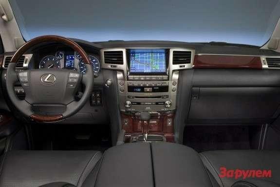 Restyled Lexus LX570 inside