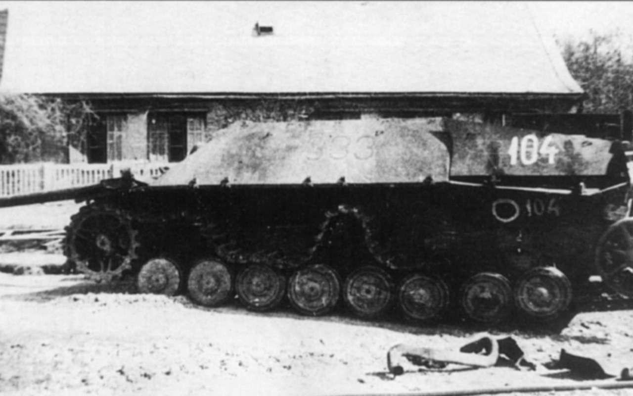 Последнее танковое сражение великой войны: засады имаскировка— фото 1089039