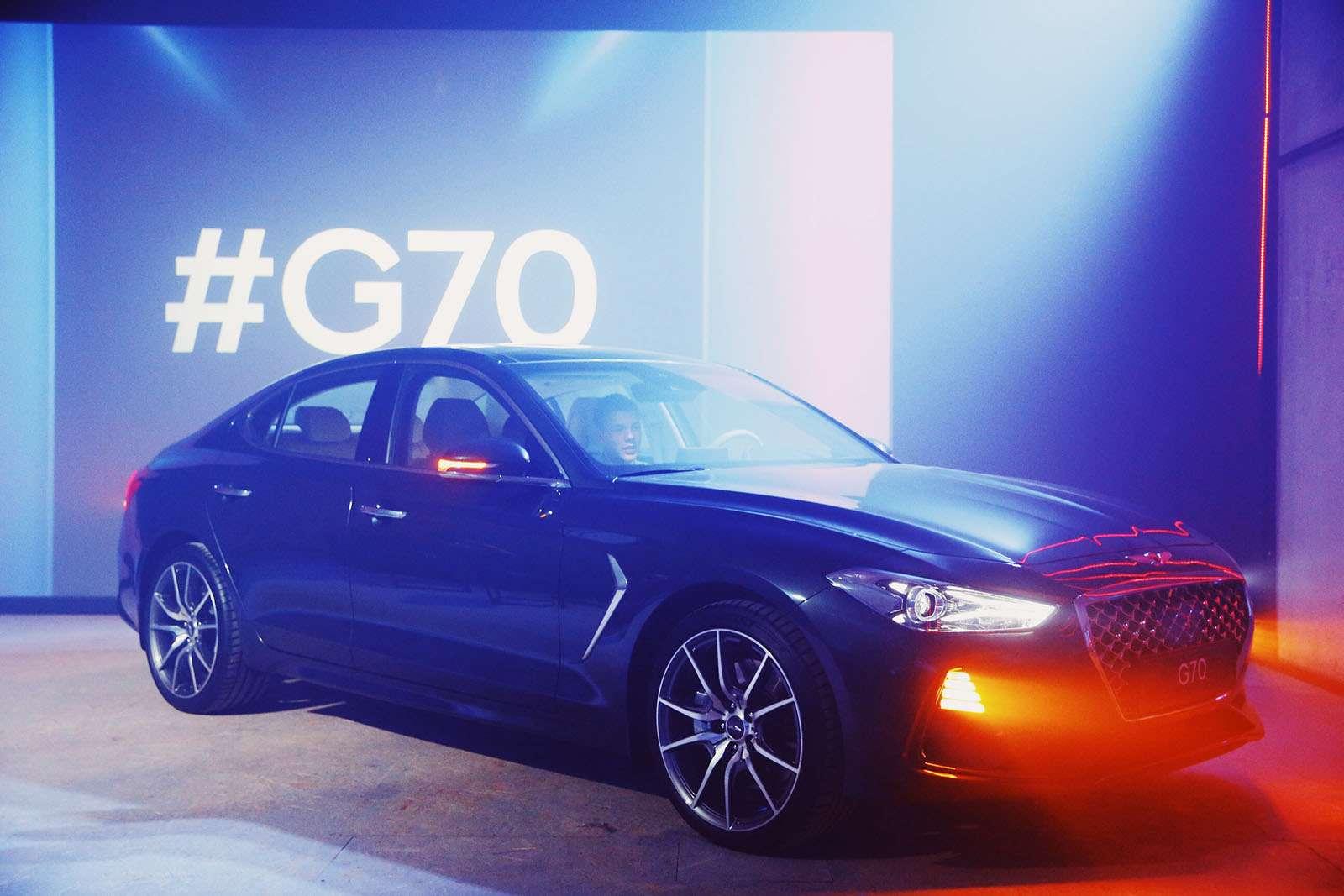 Корейский соперник «трешки» BMW вРоссии оказался дешевле конкурентов— фото 862168