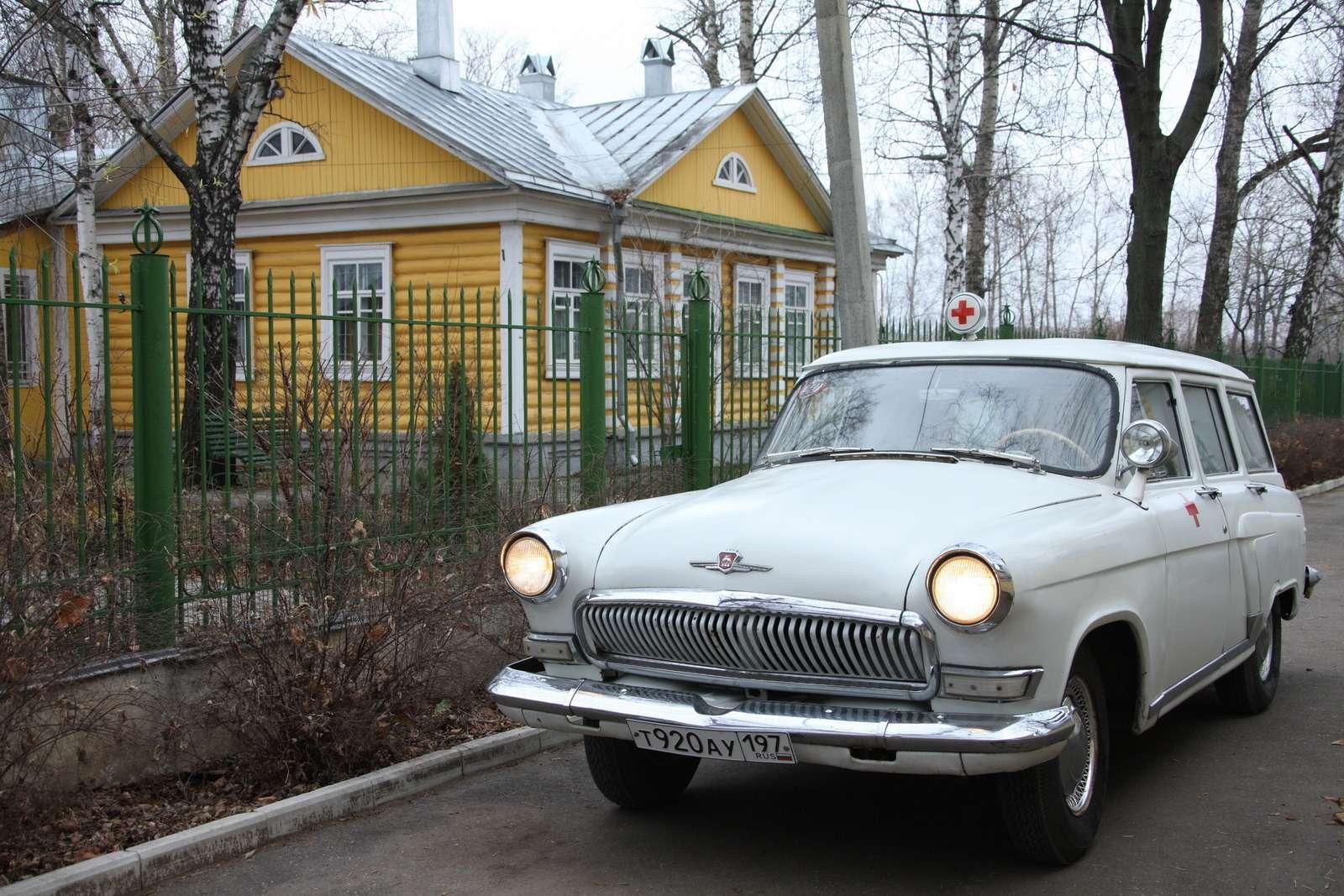 ГАЗ-22Д «Волга»: спасти исохранить— фото 682810