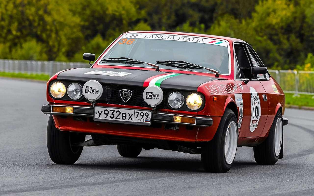 Прекрасная итальянка: ретротест купе Lancia Beta— фото 1116967