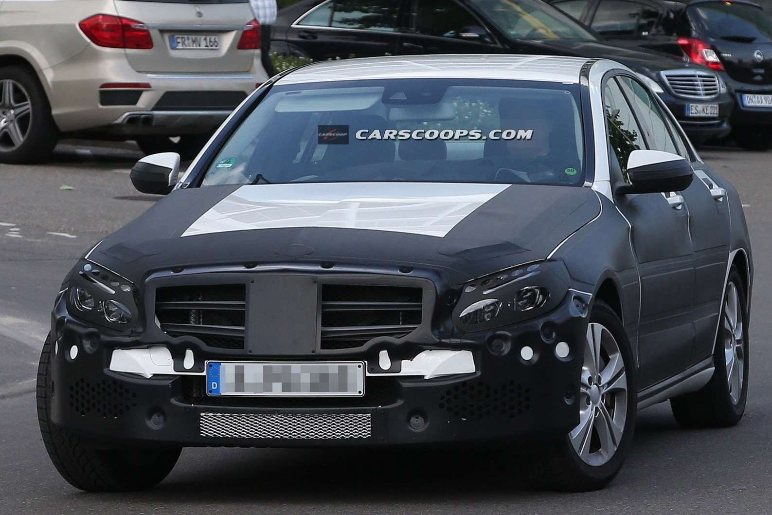 2015 Mercedes C Class Undisguised Carscoops4[3] no copyright