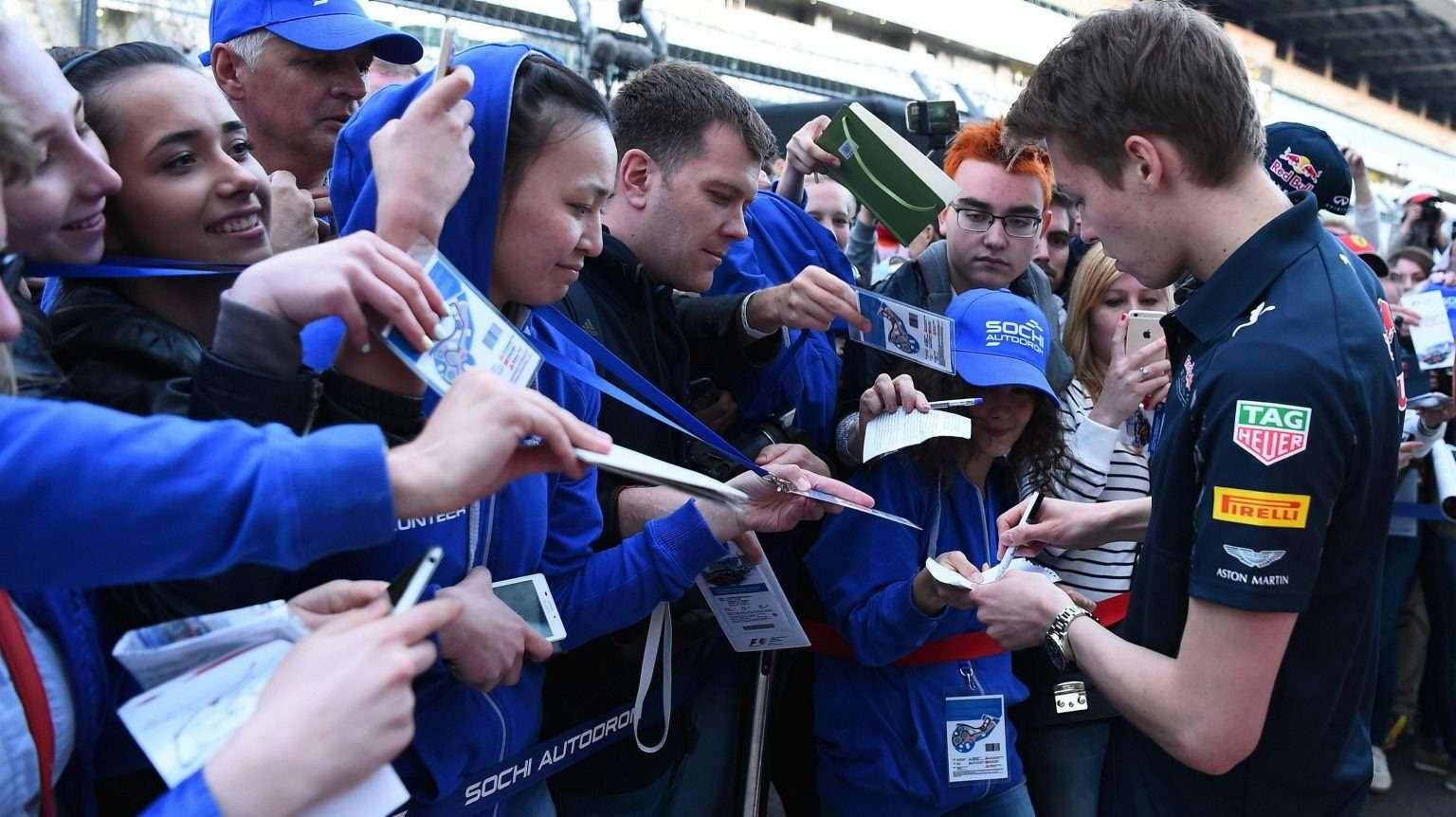 Даниил Квят, Toro Rosso, Red Bull Racing, Формула-1, Гран-при России, Сочи, Франц Тост