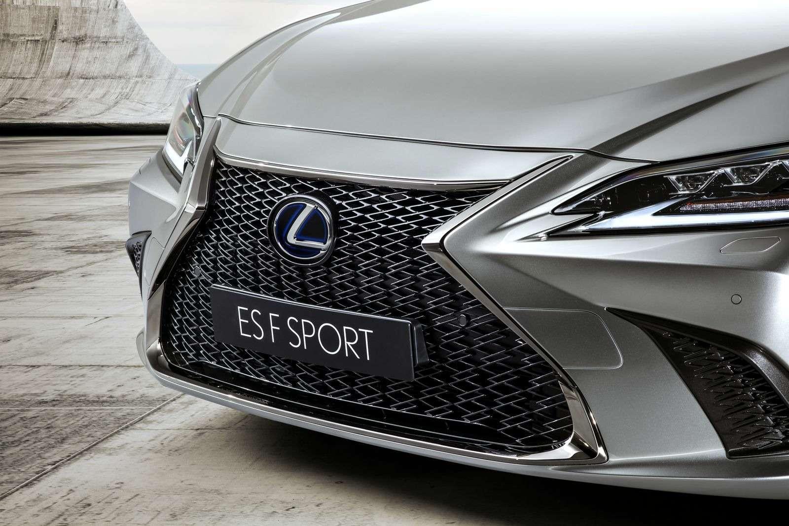 Новый Lexus ES: без полного привода итурбомоторов— фото 865661