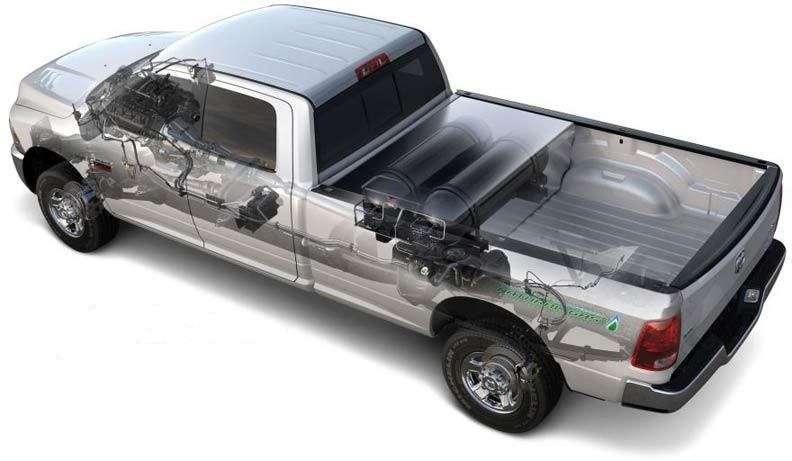Chrysler создал баллон длясжатого природного газа, повторяющий структуру легких человека