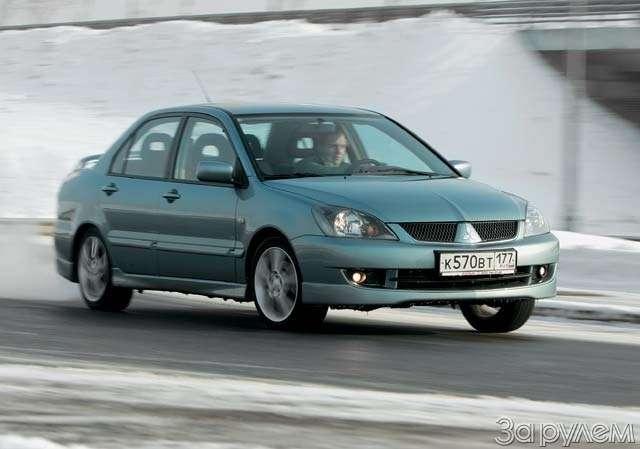 ТЕСТ: Mazda 3и Mitsubishi Lancer. Два литра сверхом— фото 63614