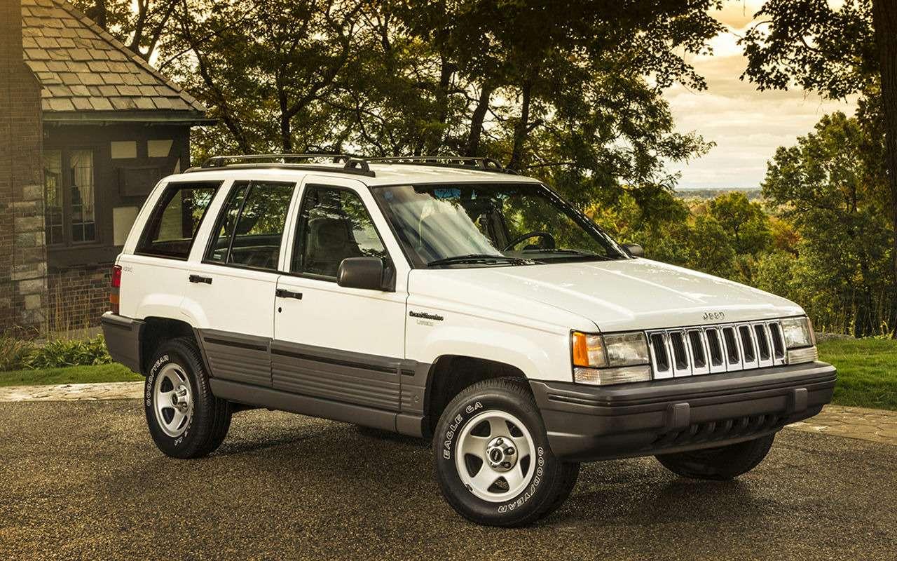 Найдите вGrand Cherokee пятый элемент! Конкурс знатоков автомобиля— фото 934535