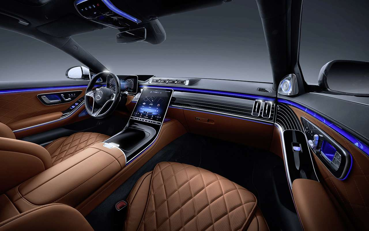 Mercedes-Benz S-класса: цены икомплектации— фото 1206306
