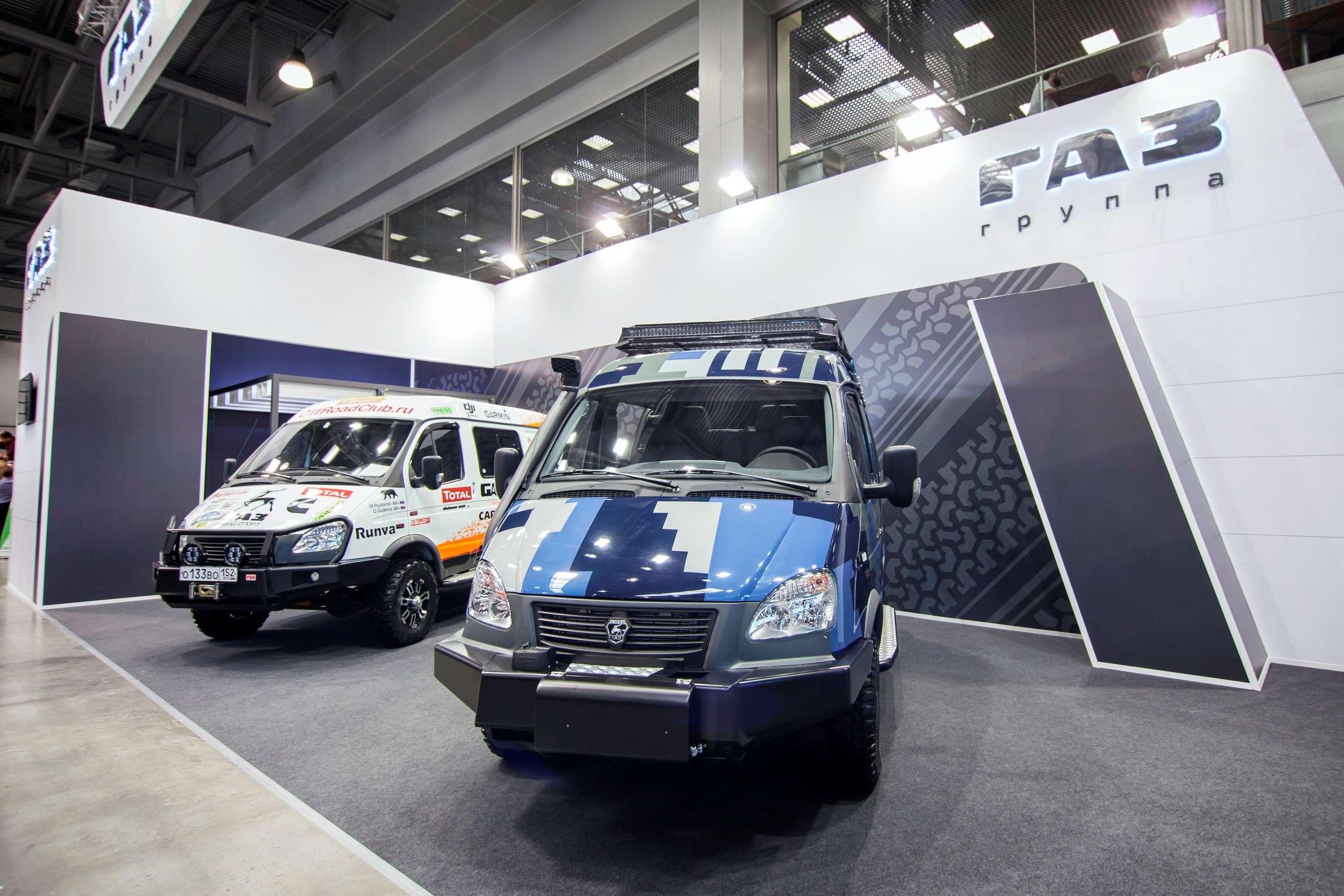 Как«шелковые»: ГАЗ представил новые версии внедорожников Соболь— фото 787477