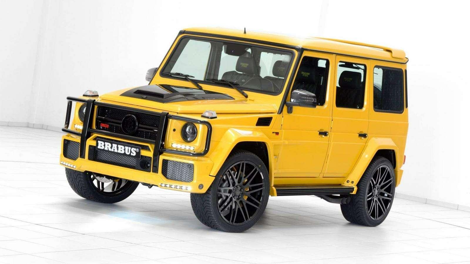 Brabus-такси: желтый Mercedes-AMG G63 готов «бомбить» поавтобанам— фото 577300