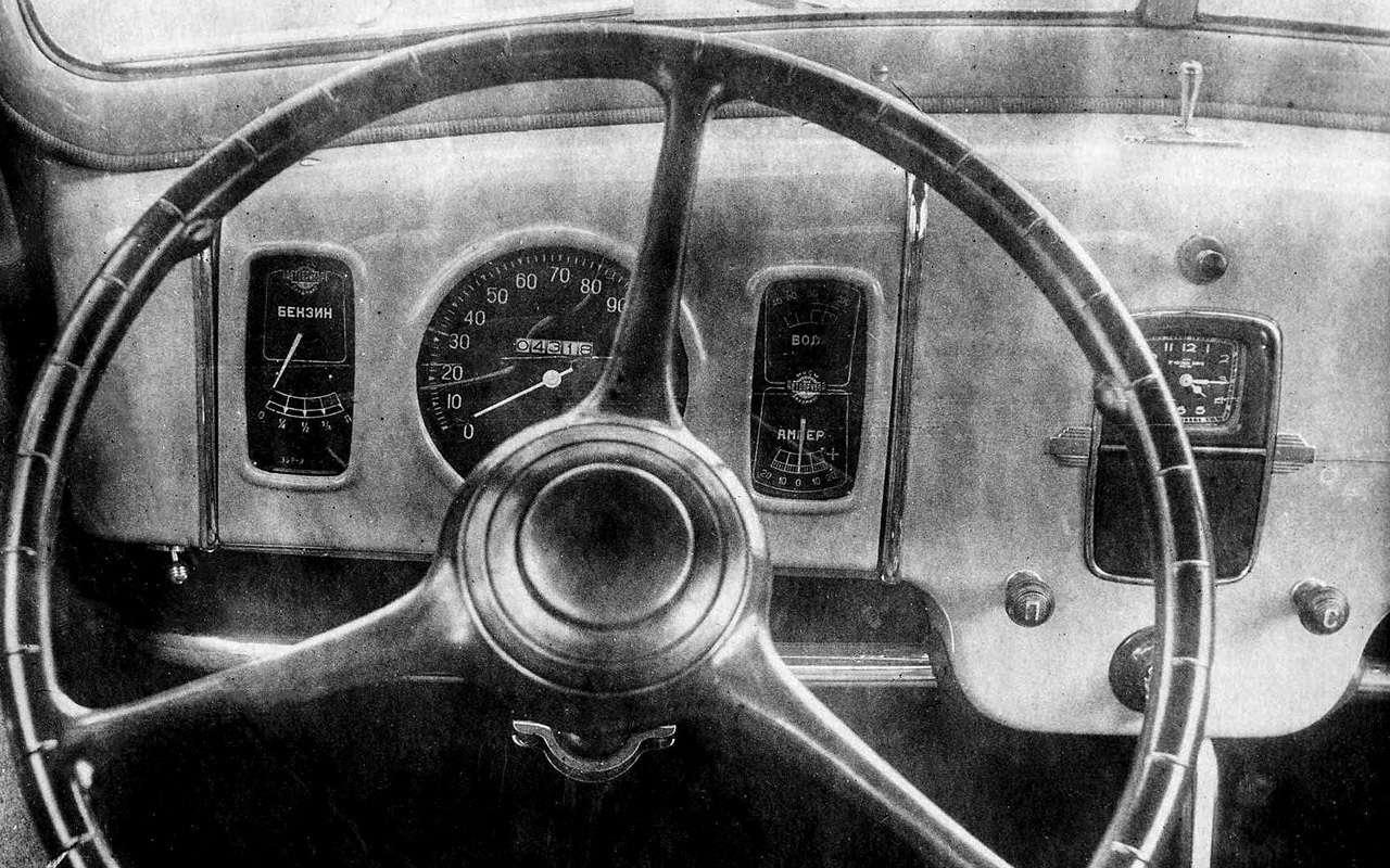 Первая (исамая невезучая) малолитражка СССР— фото 1009120