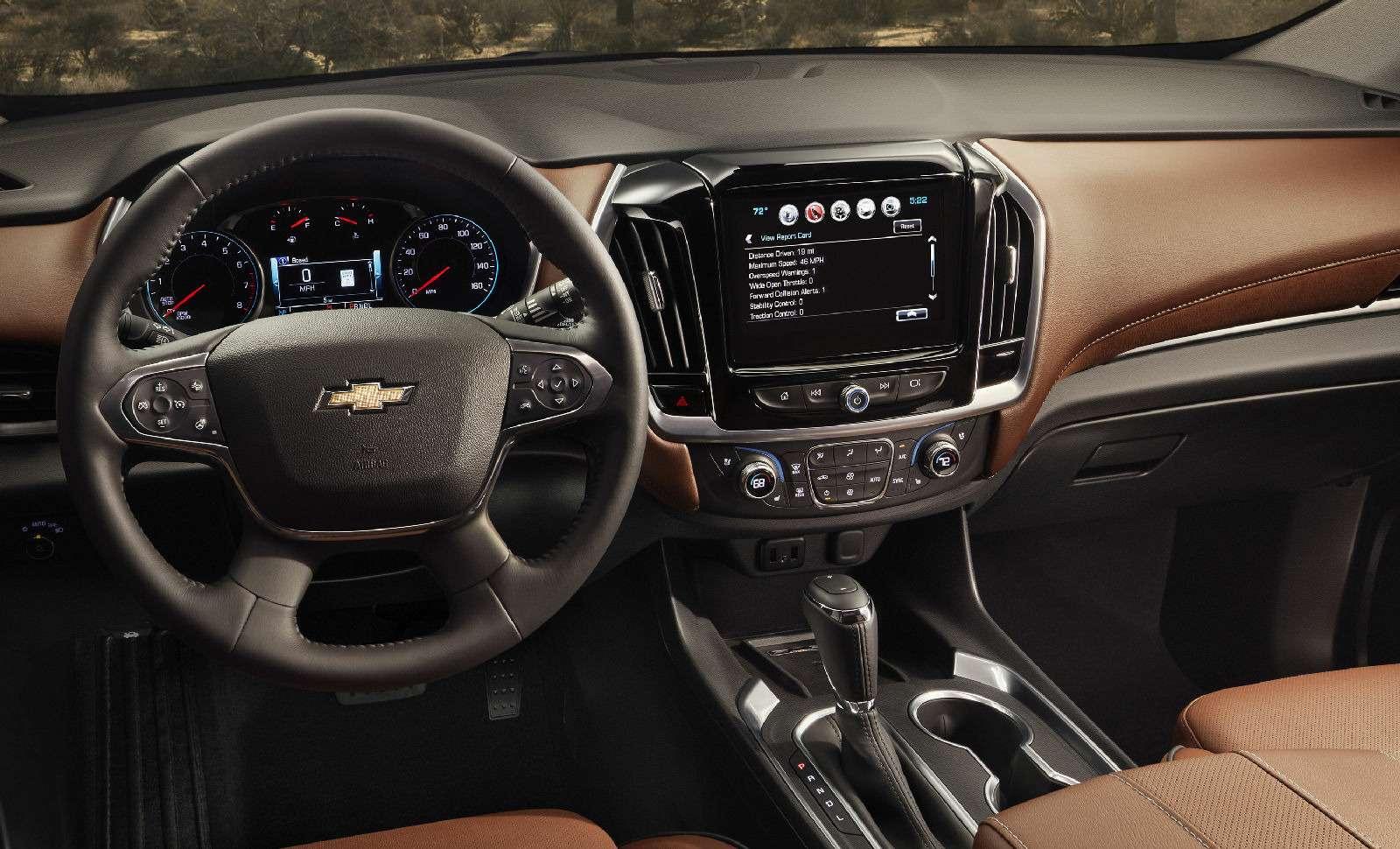 Chevrolet Traverse: новый кроссовер-гигант едет вРоссию— фото 690197