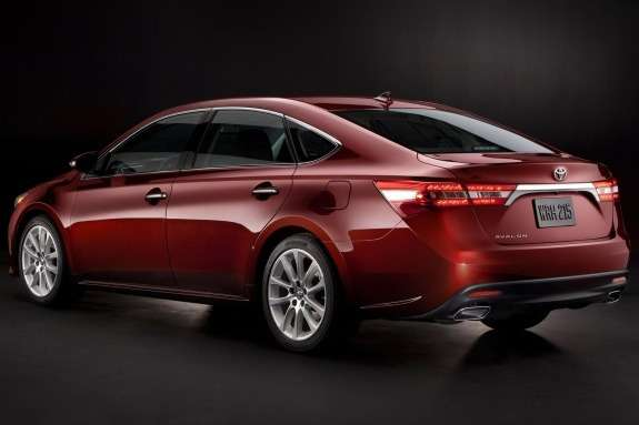 Toyota Avalon side-rear view
