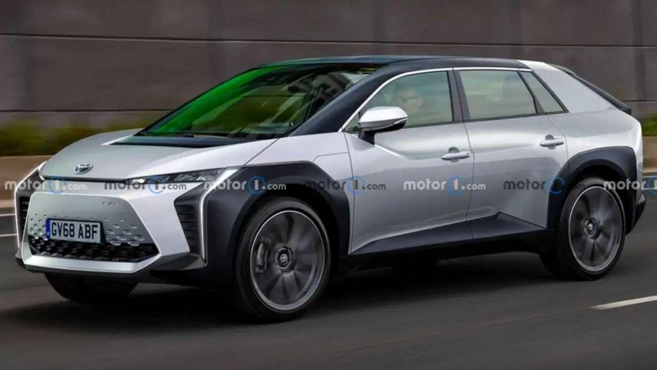 Новый Toyota BZ— патентные изображения— фото 1209431