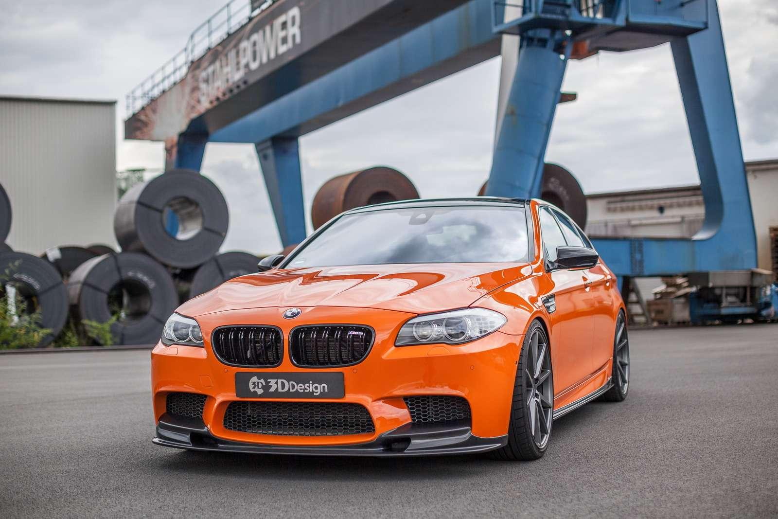 Сожрет инеподавится: BMW M5обернулся монстром— фото 616699