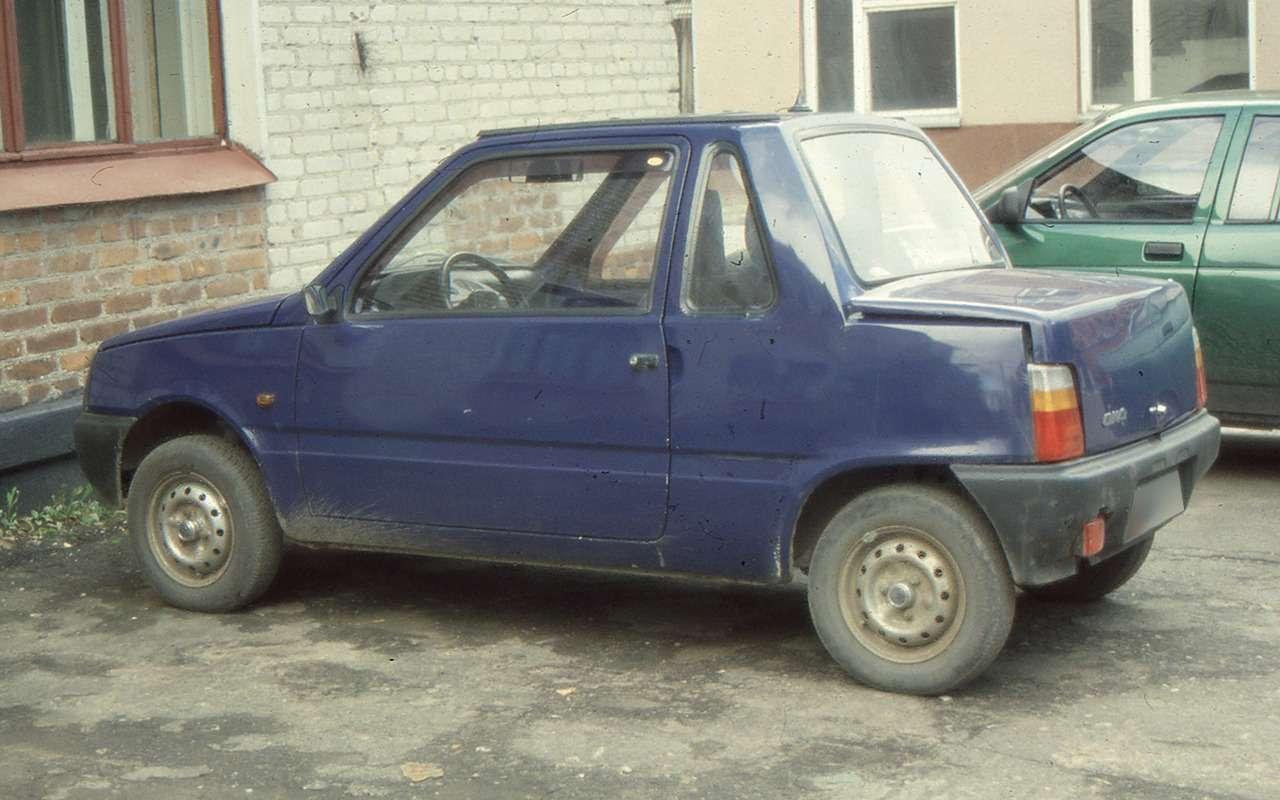 Такпеределывали авто только вСССР: 12примеров— фото 1167639