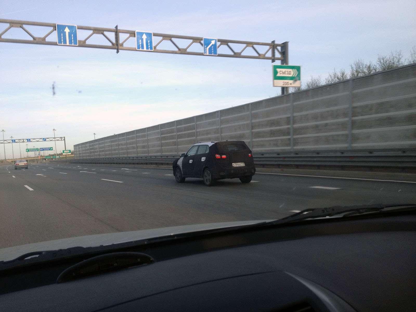 Hyundai Creta засекли наКАДе вСанкт-Петербурге— фото 586035