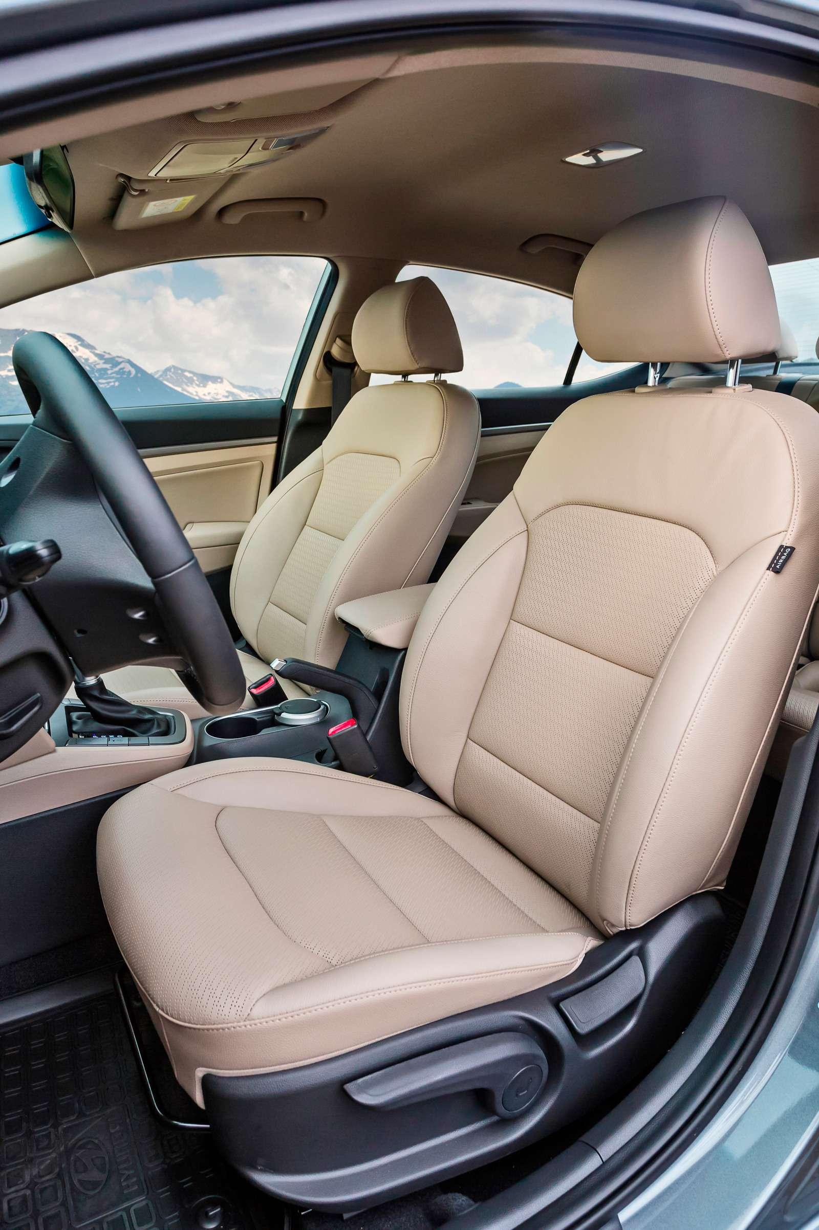Новая Hyundai Elantra: тигрокот— фото 613271