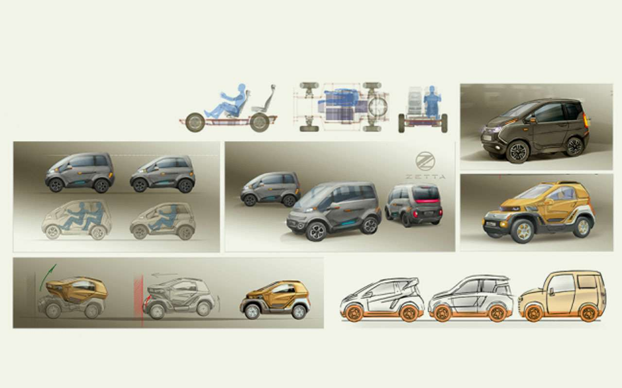 Нашновый автомобиль Zetta: все нестандартные инженерные решения— фото 977243