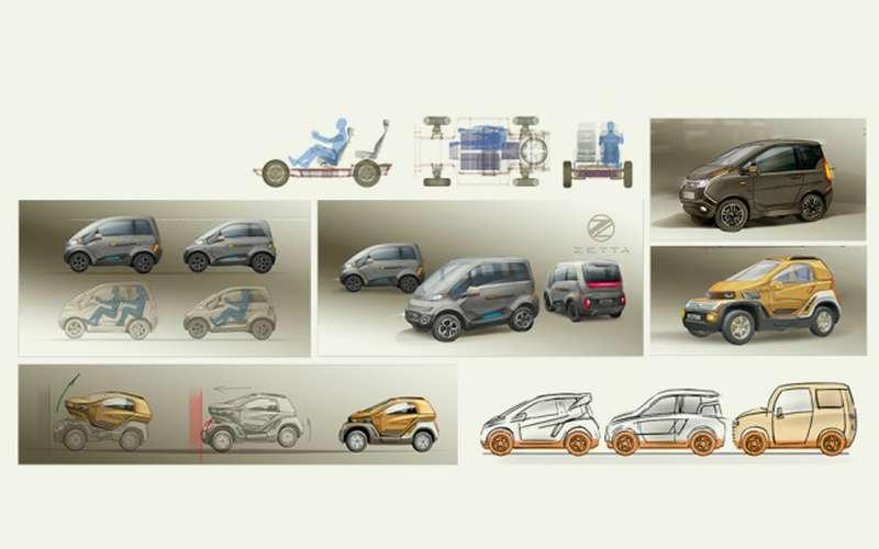 Наш новый автомобиль Zetta: все нестандартные инженерные решения