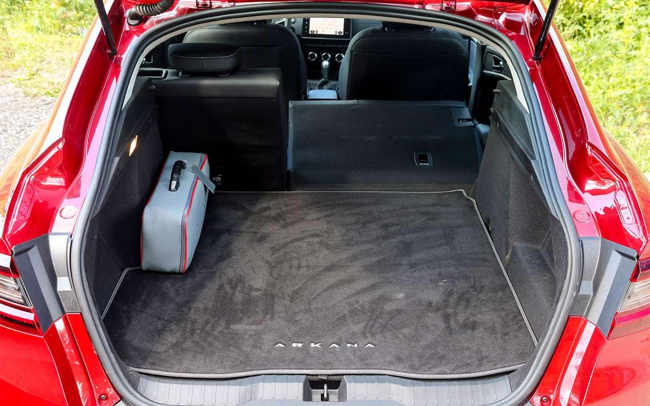 Честный тест-драйв Renault Arkana (в роли владельца) - фото 1264066