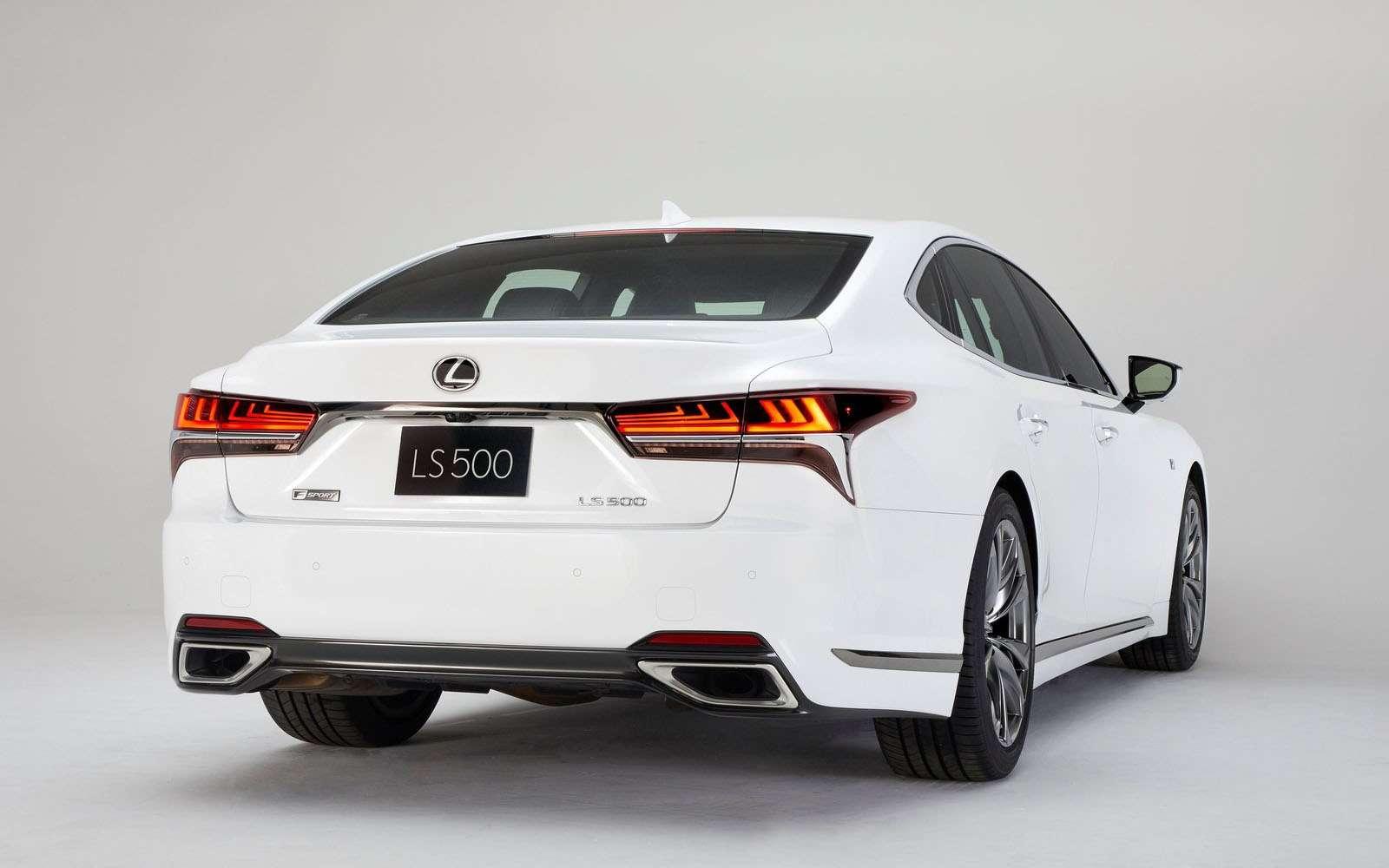 Lexus подготовил свой ответ «шестисотому»— фото 800907