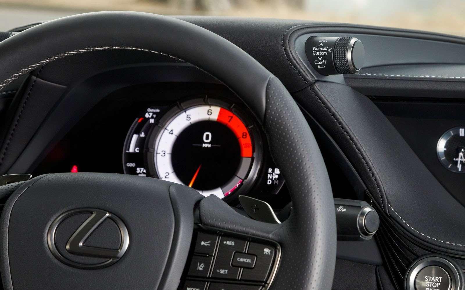 Lexus подготовил свой ответ «шестисотому»— фото 800911