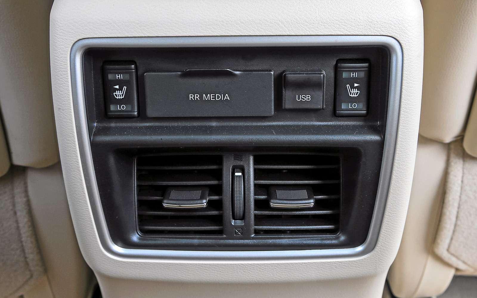 Новый Nissan Murano против конкурентов: длинные рубли— фото 691686