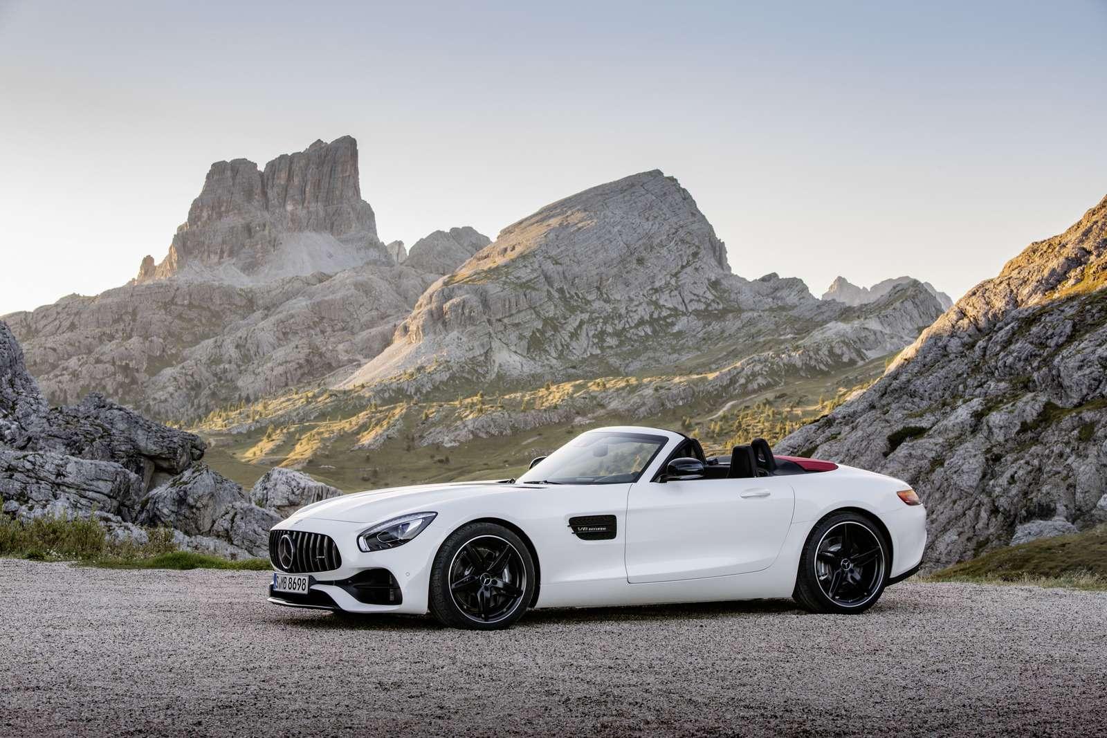 Mercedes-AMG GTRoadster: витамин С— фото 635021