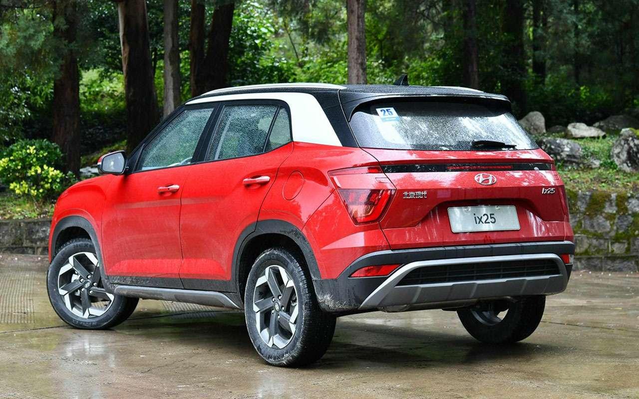 Мировая премьера новой Hyundai Creta— упрощенный вариант— фото 1081846