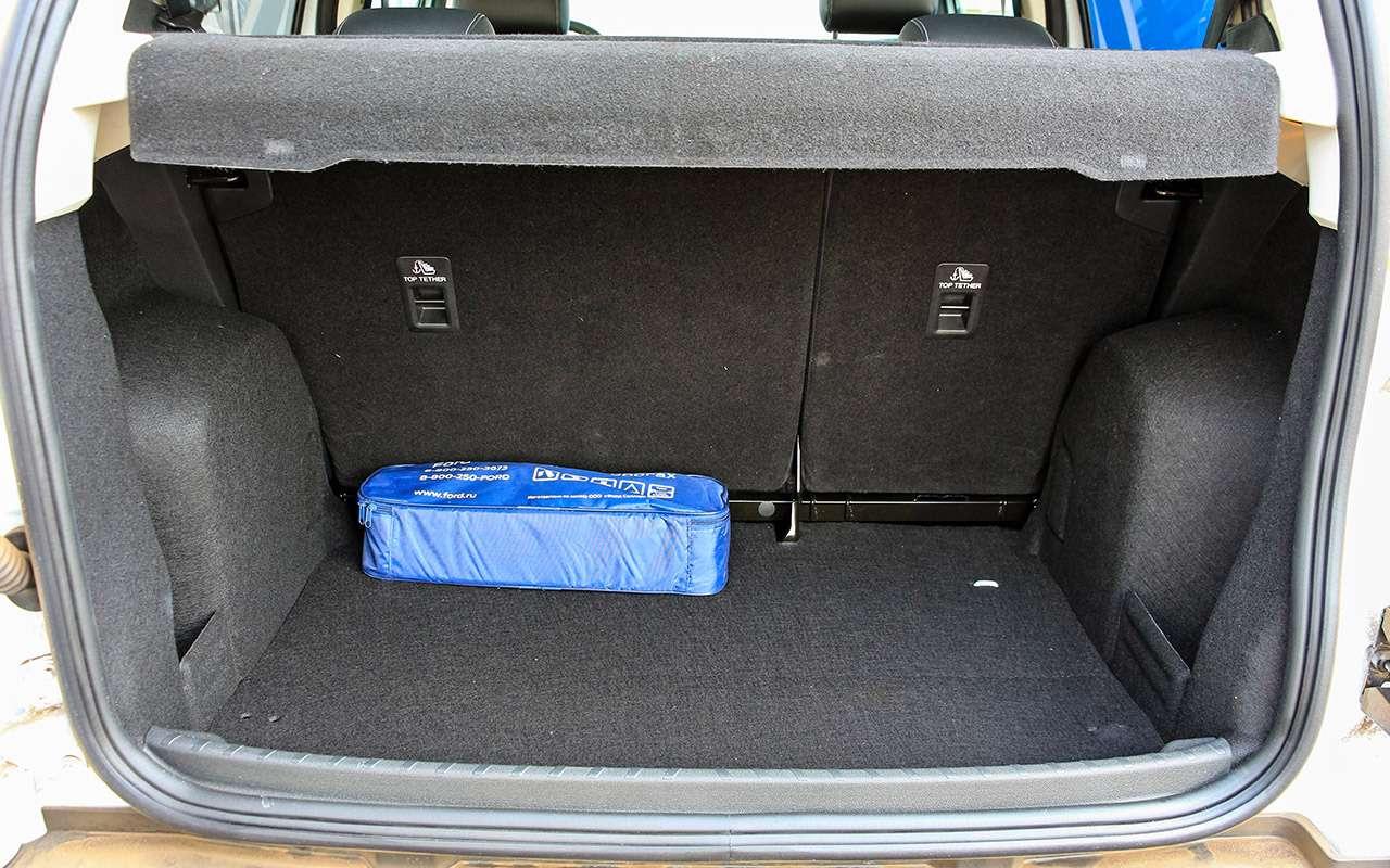 Обновленный Ford EcoSport: три цилиндра, автомат иполный привод— фото 880330