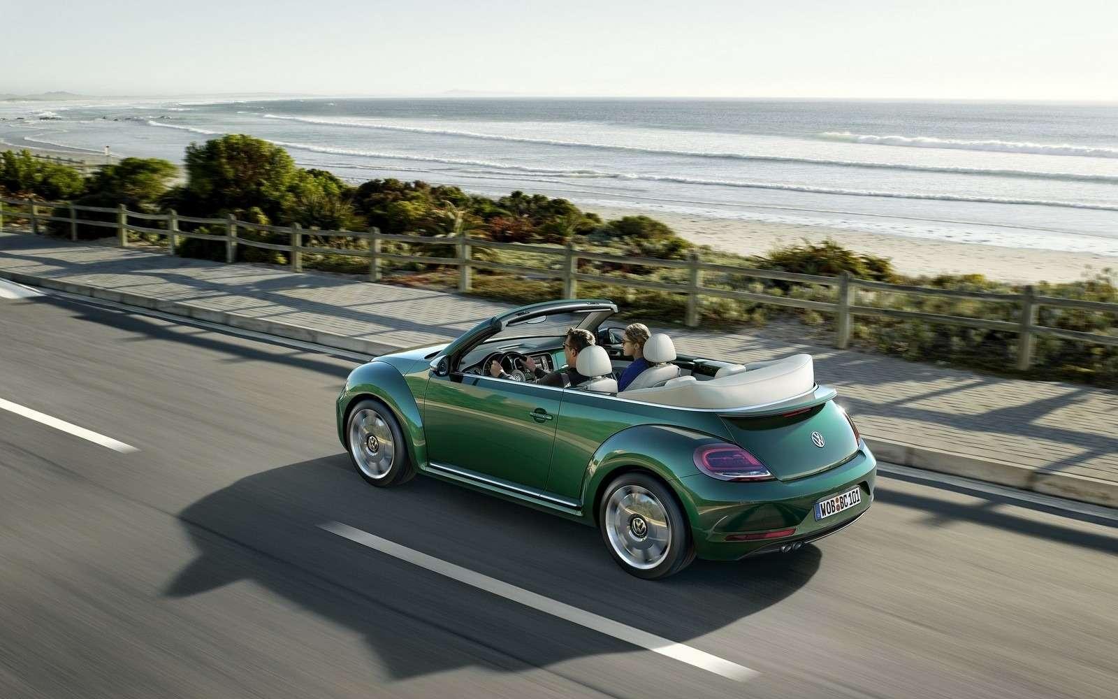 Volkswagen Beetle принарядили впоследнюю гастроль— фото 593054