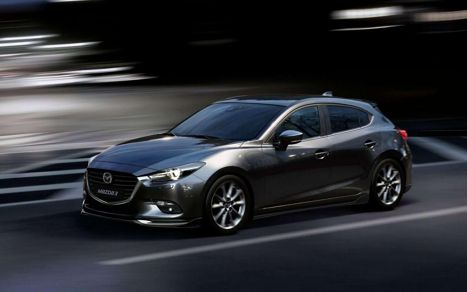 Обновленная Mazda 3будет сама жать нагаз!— фото 608698