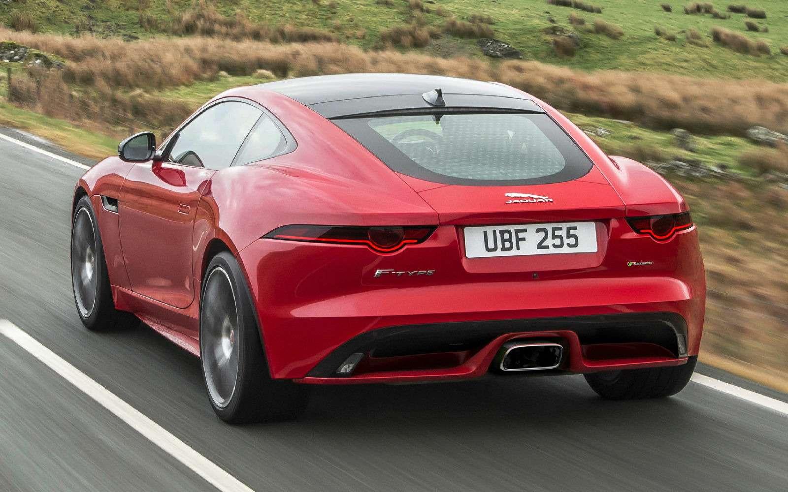 Базовый Jaguar F-Type похудел иподешевел— фото 735875