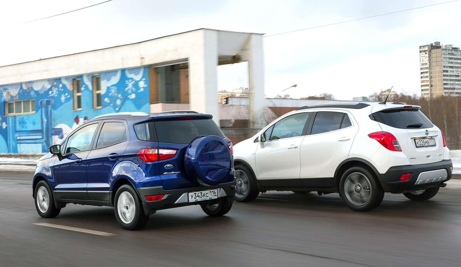 Opel Mokka иFord EcoSport