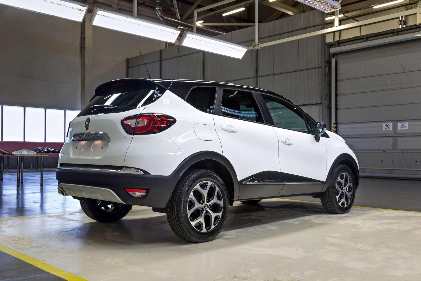 Renault Kaptur российской сборки: стиляга изМосквы— фото 583541