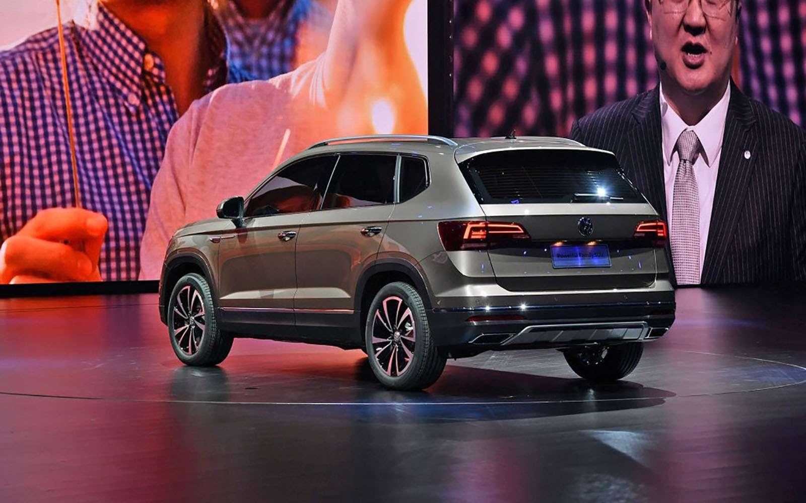 Volkswagen показал два новых кроссовера дляРоссии— фото 856982