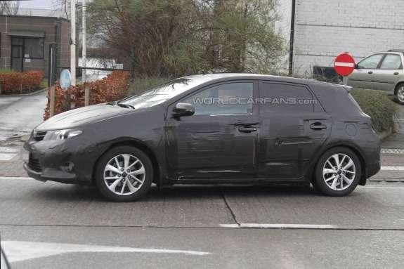Toyota Auris test prototype side view