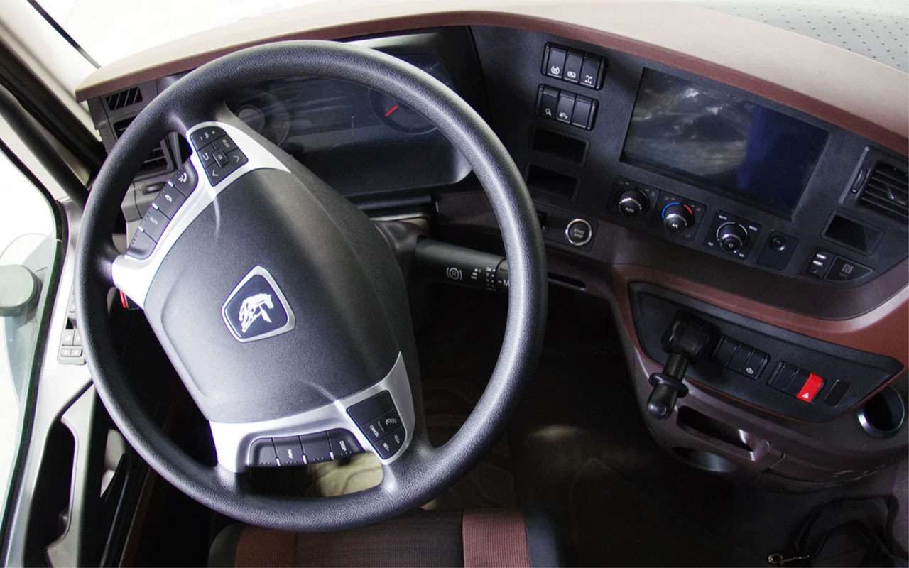 Начались испытания самосвала КАМАЗ сновой кабиной— фото 1125628