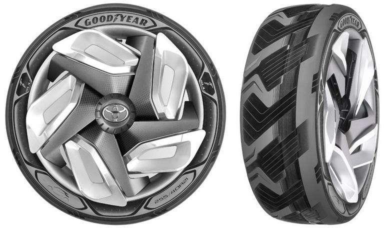 Goodyear разработала шины, заряжающие батареи электромобилей