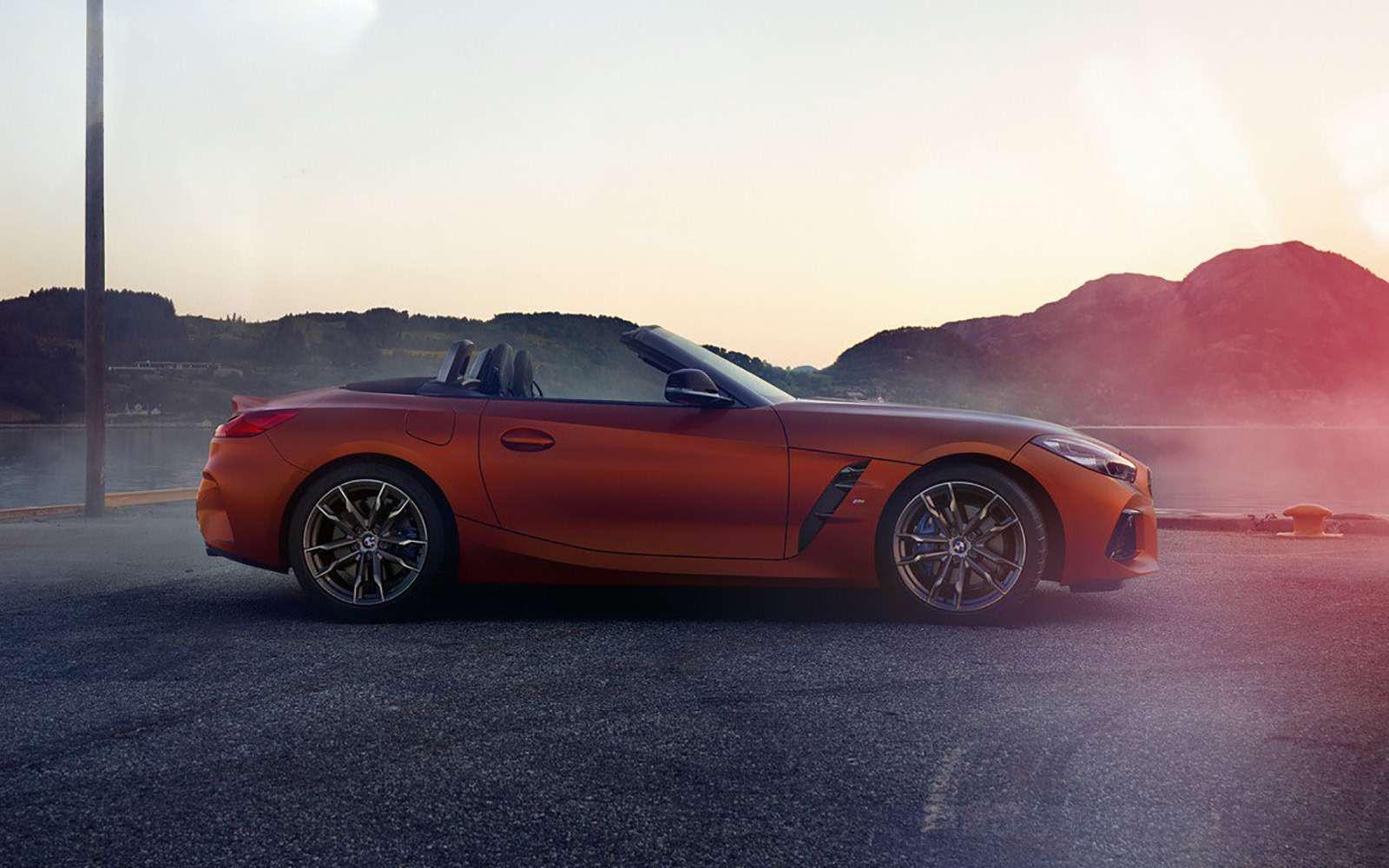 Облик BMW Z4раскрыли допремьеры— фото 896302
