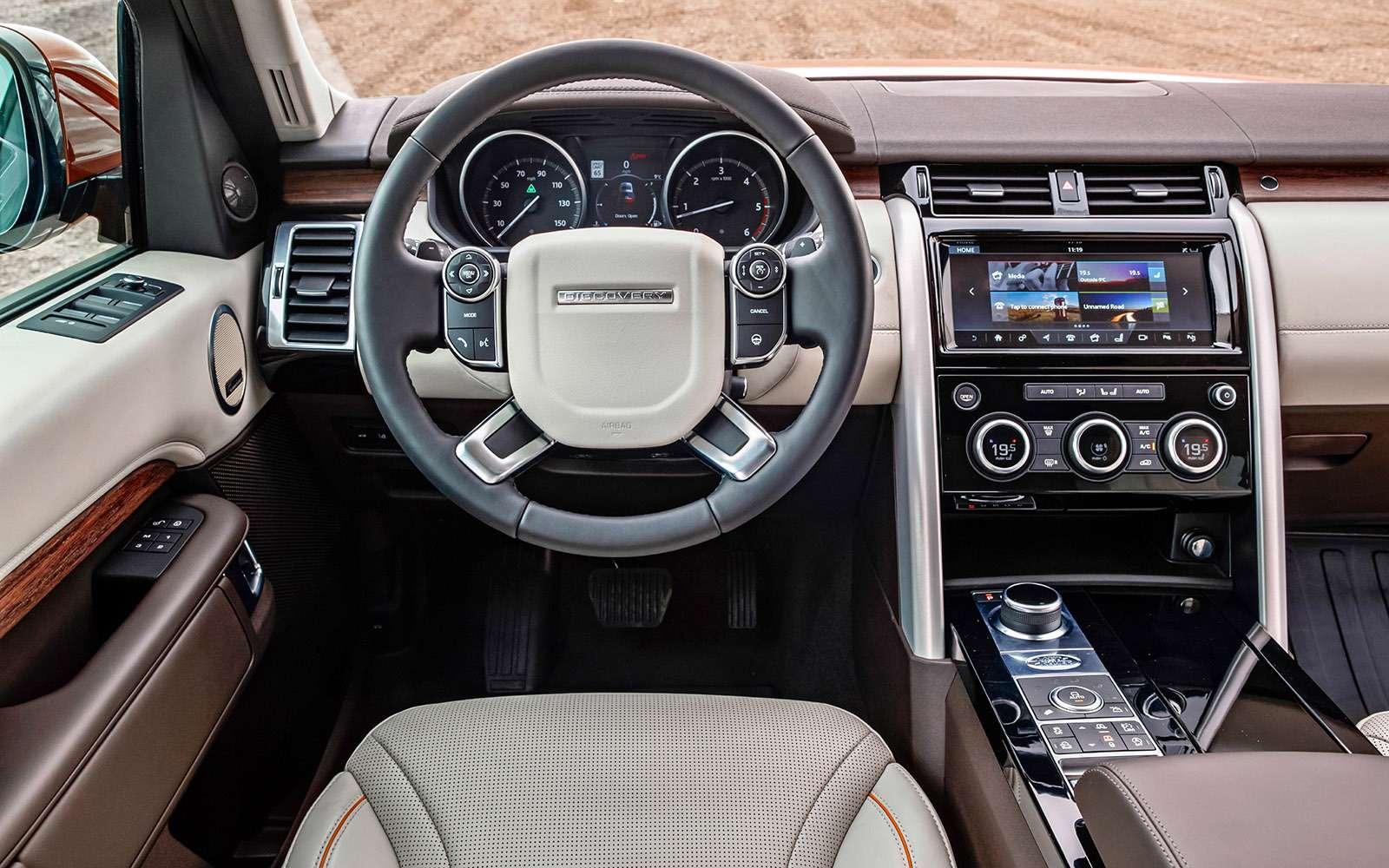 Новый Land Rover Discovery: первый тест— фото 736874