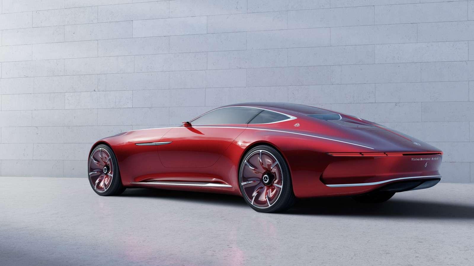 Vision Mercedes-Maybach 6будет соблюдать тишину— фото 621471