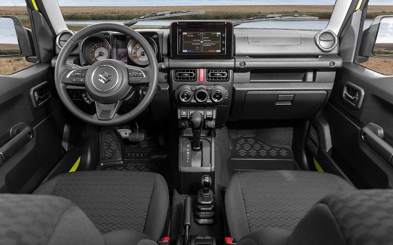 Новый Suzuki Jimny: еще меньше, еще теснее!— фото 1002757