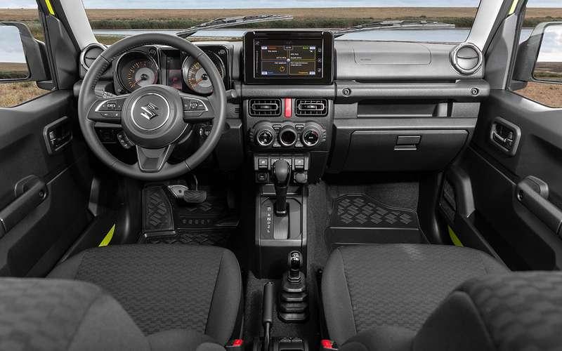 Новый Suzuki Jimny: еще меньше, еще теснее!
