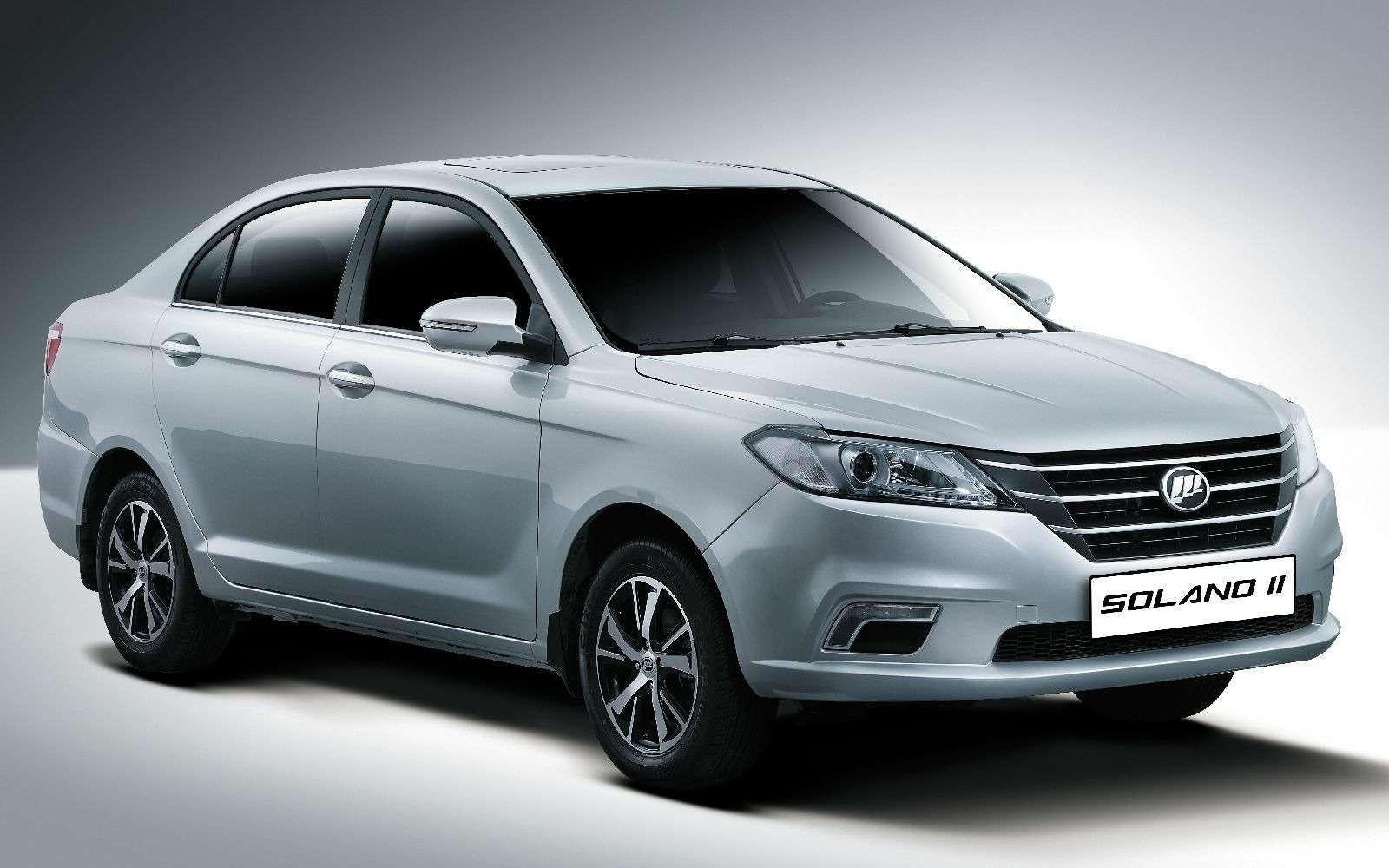 Новая версия седана Lifan Solano: известны цены— фото 834420