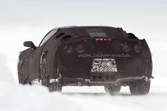 Chevrolet Corvette rear view