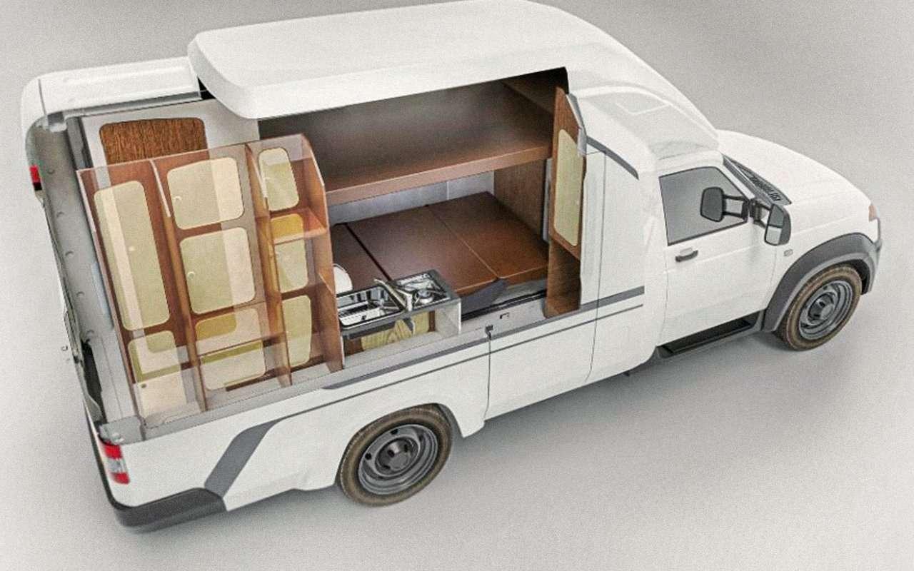 Автодом УАЗ Профи— новые подробности— фото 1265881