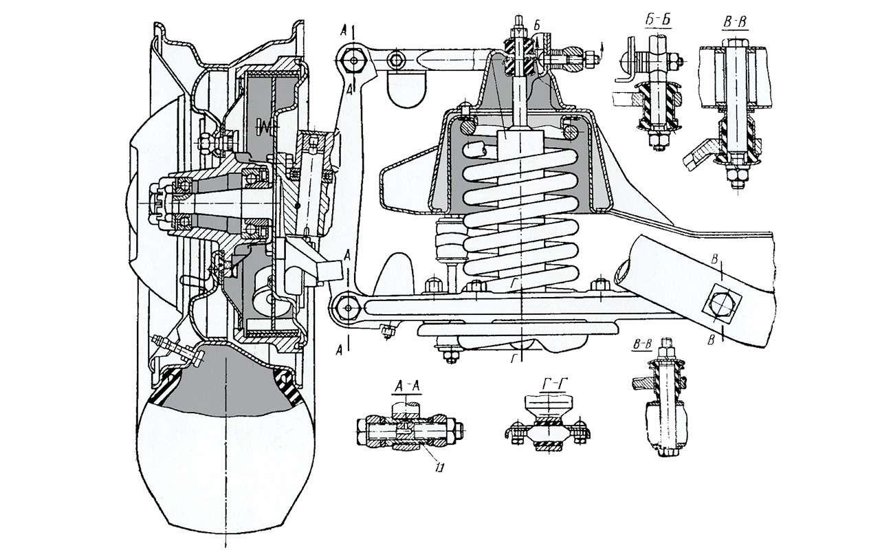 Чайка ГАЗ-13и еезаокеанские прототипы— фото 918491